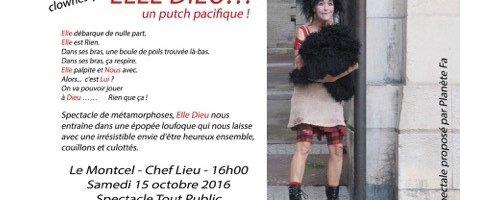 Evènement au MONTCEL - Samedi 15 octobre 2016